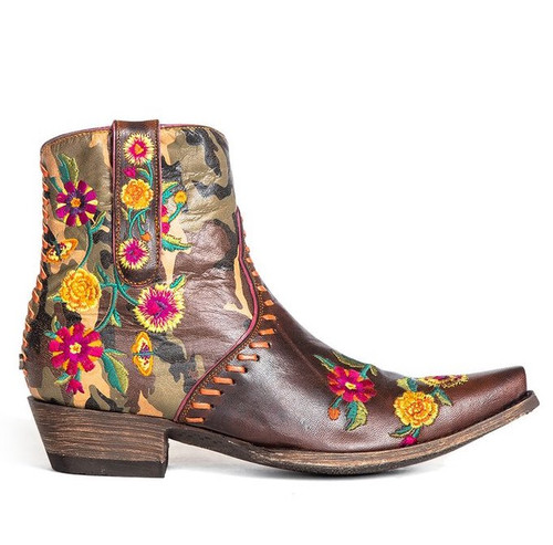Double D by Old Gringo Cosmic Camo Boots DDBL061-1 Image