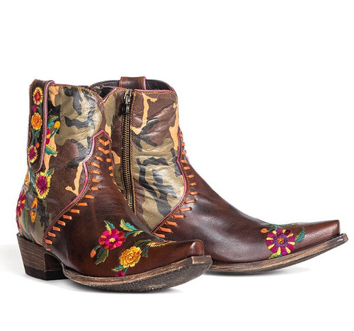 Double D by Old Gringo Cosmic Camo Boots DDBL061-1 Picture