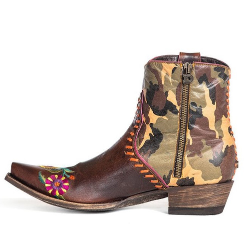 Double D by Old Gringo Cosmic Camo Boots DDBL061-1 Photo
