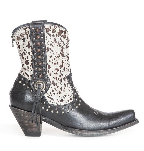 Double D by Old Gringo Forever Country Black White Boots DDBL062-1 Image