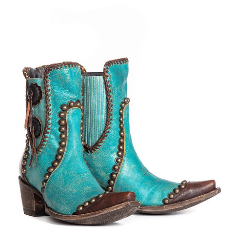 Double D by Old Gringo Stockyards Turquoise DDBL047-2 Picture