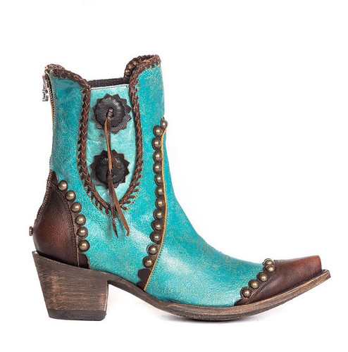 Double D by Old Gringo Stockyards Turquoise DDBL047-2 Image