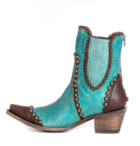 Double D by Old Gringo Stockyards Turquoise DDBL047-2 Photo