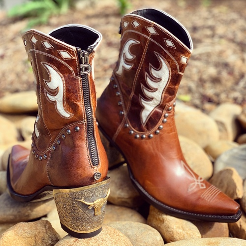 Double D by Old Gringo Cattleman Boots Nut DDBL053-1 Picture