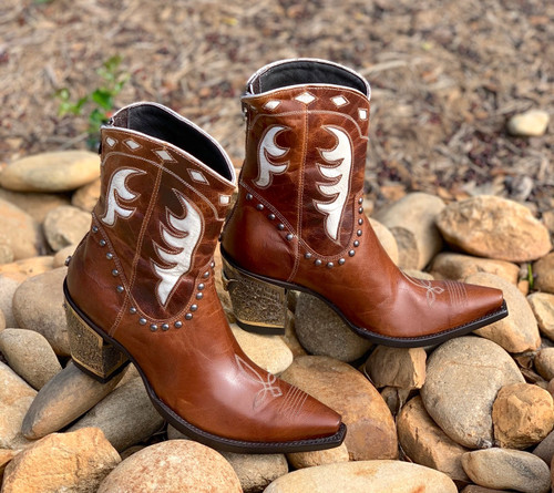 Double D by Old Gringo Cattleman Boots Nut DDBL053-1 Toe