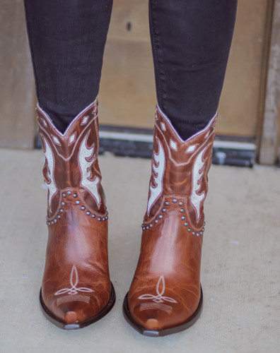 Double D by Old Gringo Cattleman Boots Nut DDBL053-1 Photo