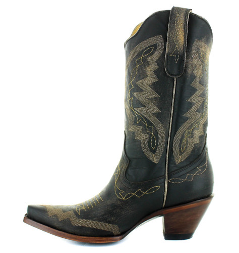 Yippee by Old Gringo Peyton Rustic Beige Black YL347-6 Image