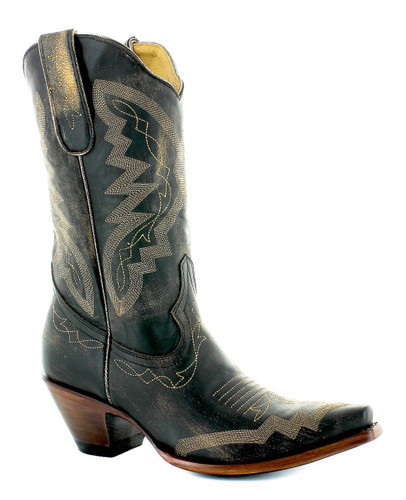 Yippee by Old Gringo Peyton Rustic Beige Black YL347-6 Picture