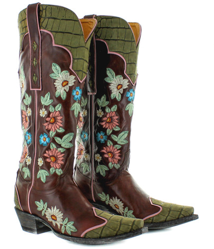 Old Gringo Stagecoach Sangria Boots L3345-1 Picture