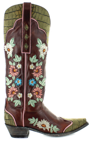 Old Gringo Stagecoach Sangria Boots L3345-1 Image