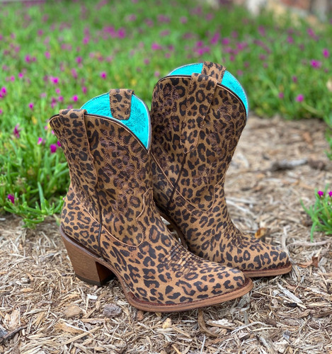 Corral Leopard Print Embroidery Ankle Boot E1650 Picture