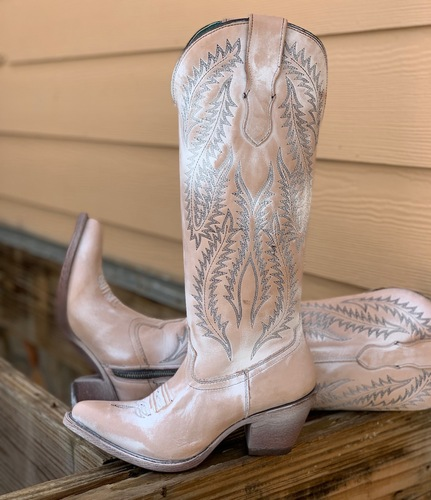 Corral Rose Embroidery Tall Top Boots E1379 Picture