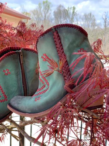 Liberty Black Aztec Zipper Boot Turqueza LB712376 Image