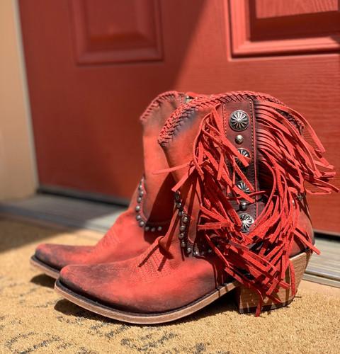 Liberty Black Susannah Vegas Ladrillo Boots LB712980 Image