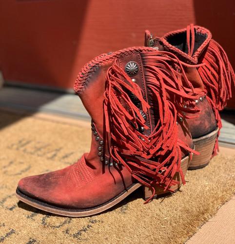 Liberty Black Susannah Vegas Ladrillo Boots LB712980 Concho