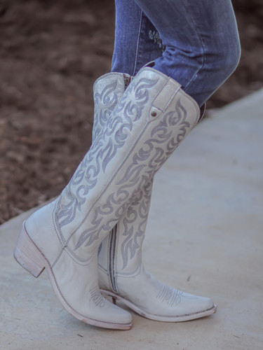 Liberty Black Allie Nite Life Beige Boots LB712988 Image