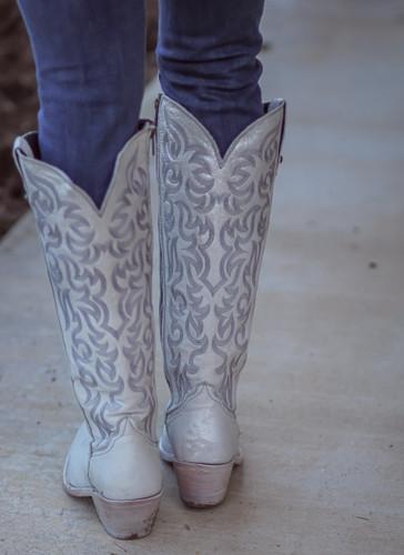 Liberty Black Allie Nite Life Beige Boots LB712988 Heel