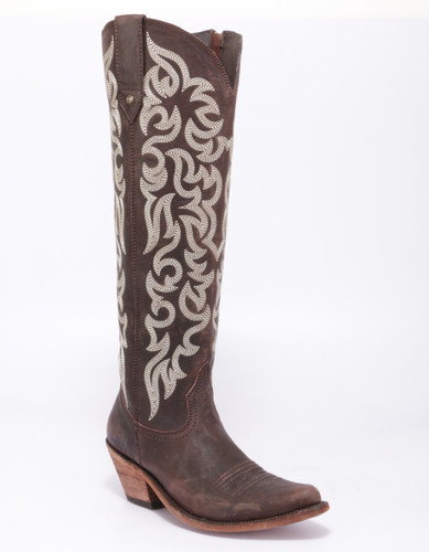 Liberty Black Allie Mossil Cafe Zipper Boots LB712988 Picture