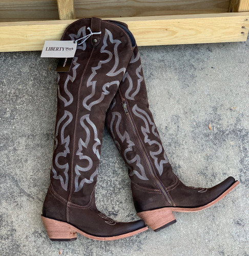 Liberty Black Allyssa Chocolate Boots LB712989 Picture