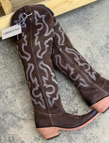 Liberty Black Allyssa Chocolate Boots LB712989 Photo