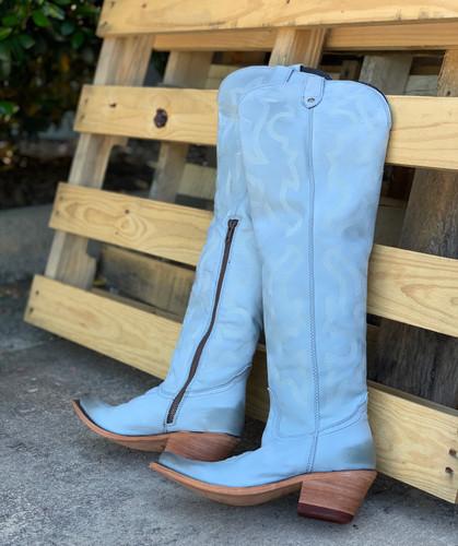 Liberty Black Allyssa Grey Boots LB712989 Photo