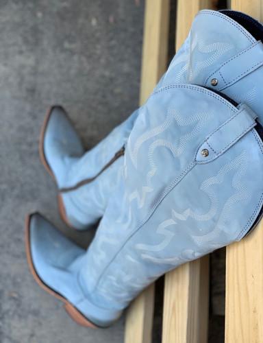Liberty Black Allyssa Grey Boots LB712989 Image