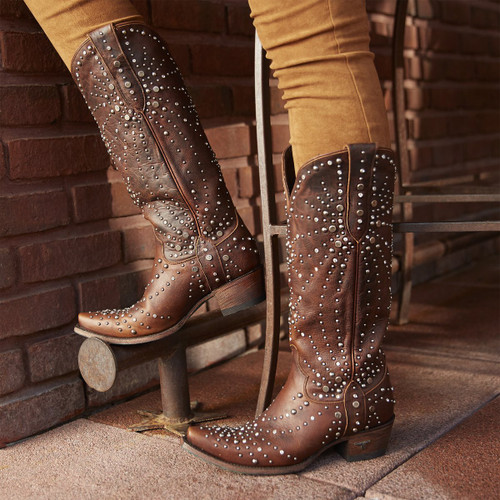 Lane Sparks Fly Brown Boots LB0436C Image