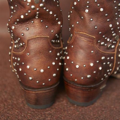 Lane Sparks Fly Brown Boots LB0436C Heel