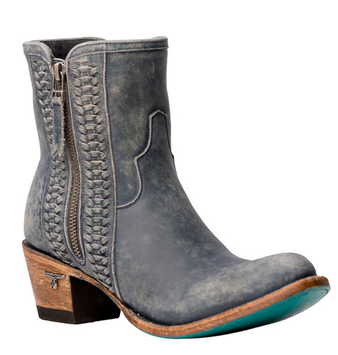 Lane Layten Bootie Distressed Midnight Blue Boots LB0448D Image