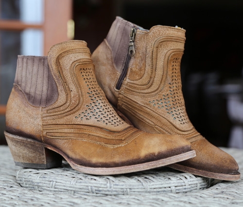 Corral Sand Laser Ankle Boot C3143 Picture