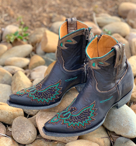 Old Gringo Eagle Beaded Black Boots BL3295-2 Picture