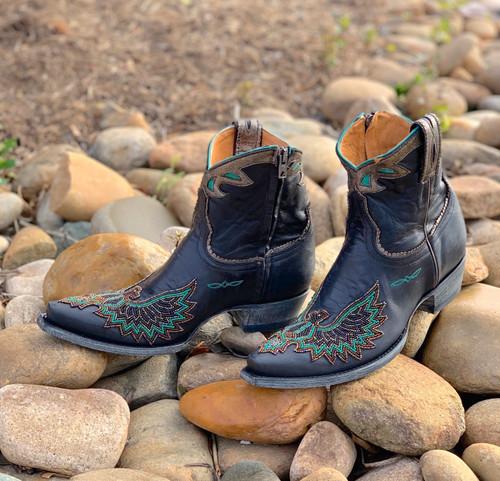 Old Gringo Eagle Beaded Black Boots BL3295-2 Photo