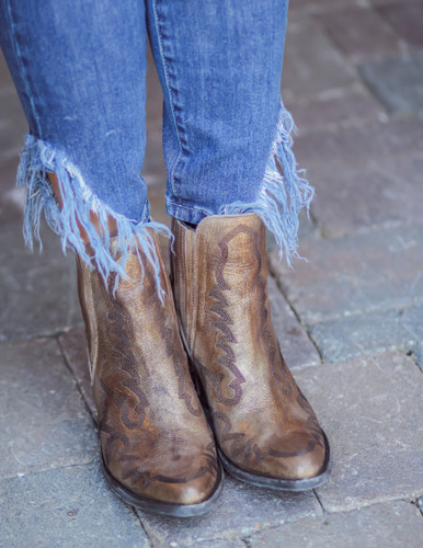 Old Gringo Juno Gold Boots BL3210-2 Toe