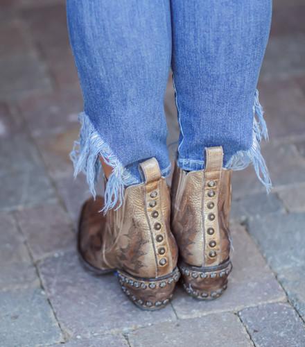 Old Gringo Juno Gold Boots BL3210-2 Heel