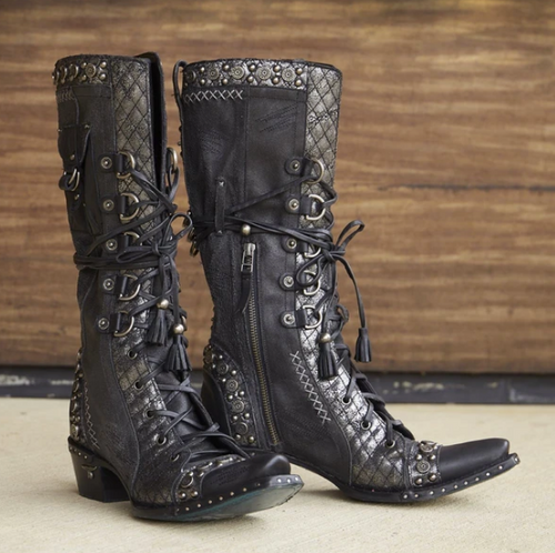 Lane Loaded Outrider Black Boots LB0369B Image