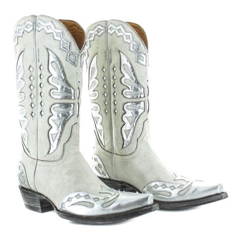 Old Gringo Monarca Taupe Silver Boots L026-47 Picture