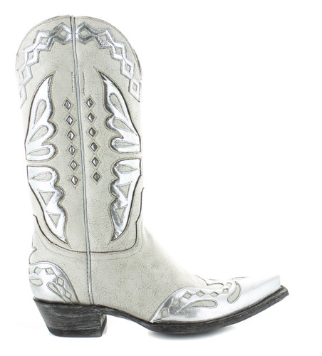 Old Gringo Monarca Taupe Silver Boots L026-47 Image