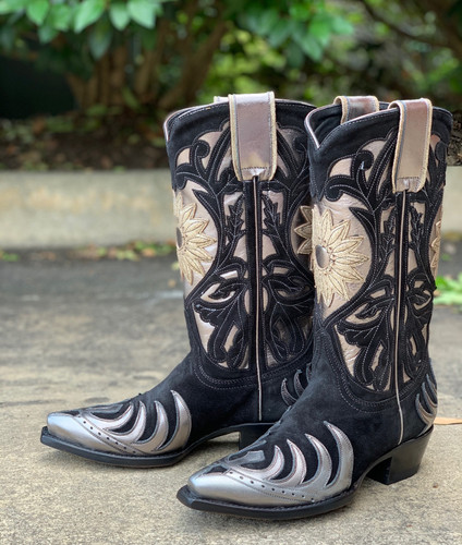 Old Gringo Whitney Black Silver Boots L209-14 Picture