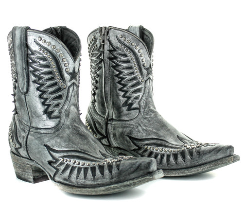 Old Gringo Dawn Pipin Silver Boots BL3294-2 Picture