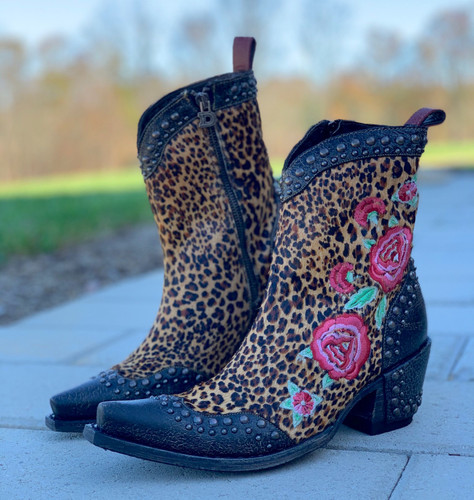 Double D by Old Gringo Del Rio Brown Boots DDBL069-1 Image