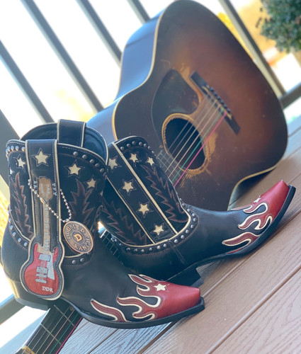 Double D by Old Gringo Ring of Fire Boots DDL079-1 Picture