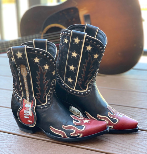 Double D by Old Gringo Ring of Fire Boots DDL079-1 Photo