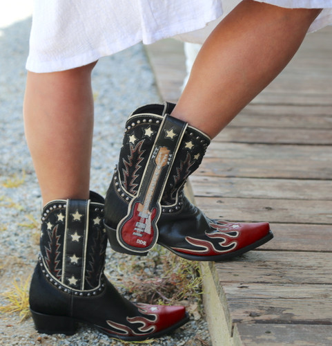 Double D by Old Gringo Ring of Fire Boots DDL079-1 Model