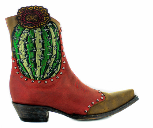Old Gringo Barrel Cactus Red Boots BL3366-1 Photo