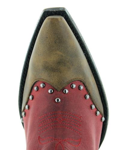 Old Gringo Barrel Cactus Red Boots BL3366-1 Toe