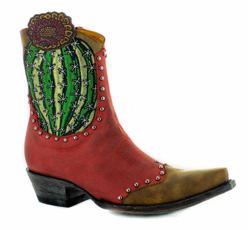 Old Gringo Barrel Cactus Red Boots BL3366-1 Image