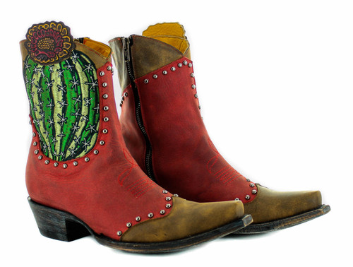 Old Gringo Barrel Cactus Red Boots BL3366-1 Picture