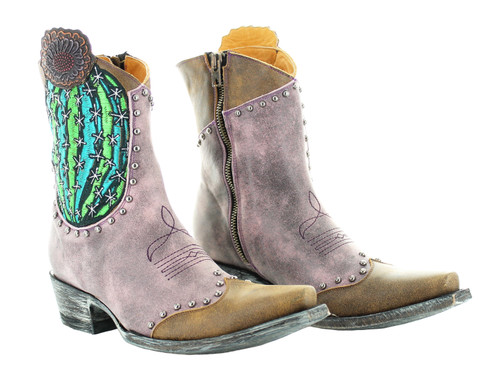 Old Gringo Barrel Cactus Pink Boots BL3366-2 Picture