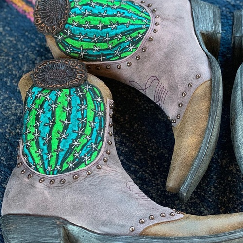 Old Gringo Barrel Cactus Pink Boots BL3366-2 Live Photo