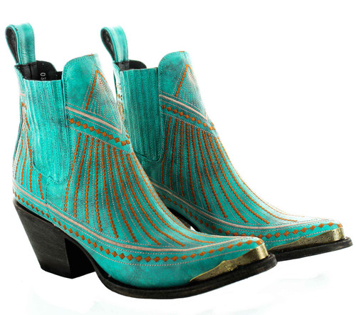 Yippee by Old Gringo Quincy Turquoise Bootie YBL429-1 Picture